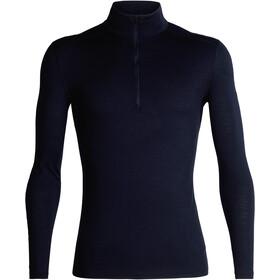 Icebreaker 200 Oasis LS Half Zip Shirt Herre midnight navy